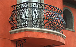 Wrought-Iron-Stair-Railing-(SR-28)