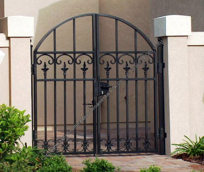 Aluminum Decorative Courtyard Gate
