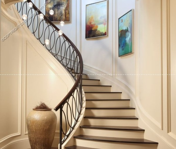 Wrought-Iron-Stair-Rail(SR-115)