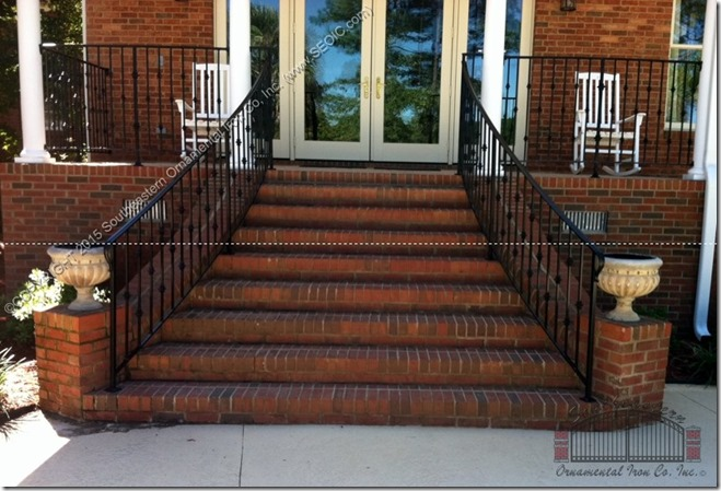 Wrought-Iron-Porch-Railing(PR-37)