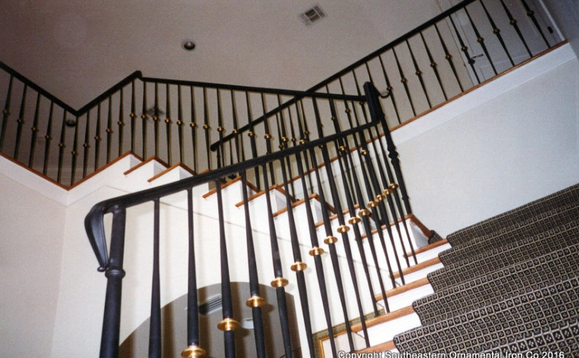 Wrought-Iron-Stair-Rail (SR-16)