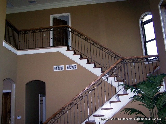 Wrought-Iron-Stair-Rail-(SR-21)