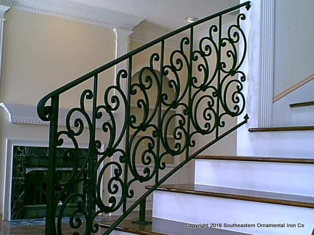 Wrought-Iron-Stair-Rail-(SR-22)