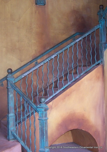 Wrought Iron Stair Rail (SR 25)