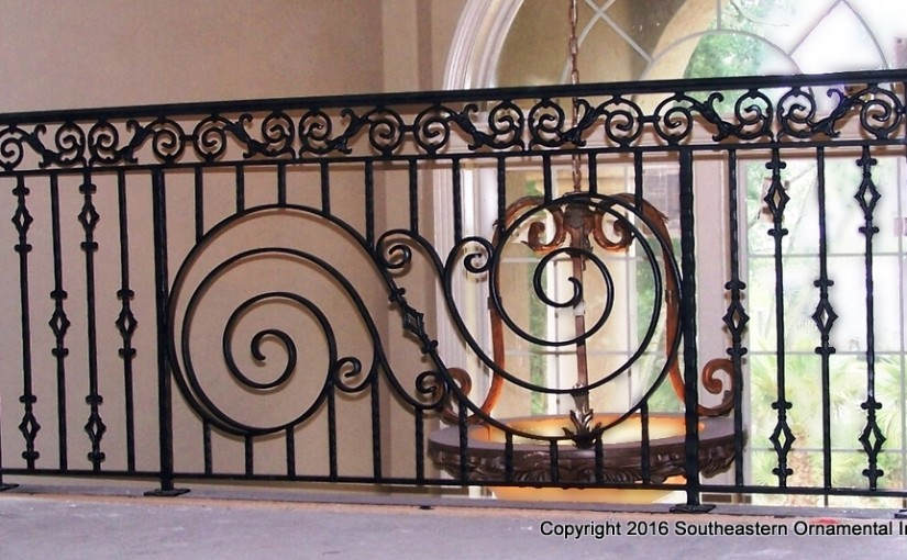 Wrought-Iron-Stair-Railing-(SR-26)
