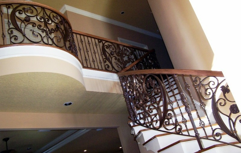 Wrought-Iron-Stair-Railing-(SR-36)