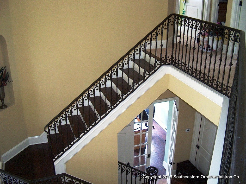 Wrought Iron Stair Railing (SR 45)