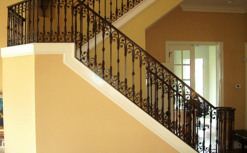 Wrought-Iron-Stair-Railing-(SR-47)