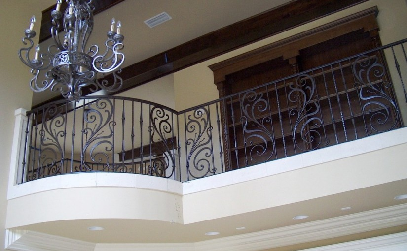 Wrought-Iron-Stair-Railing-(SR-48)