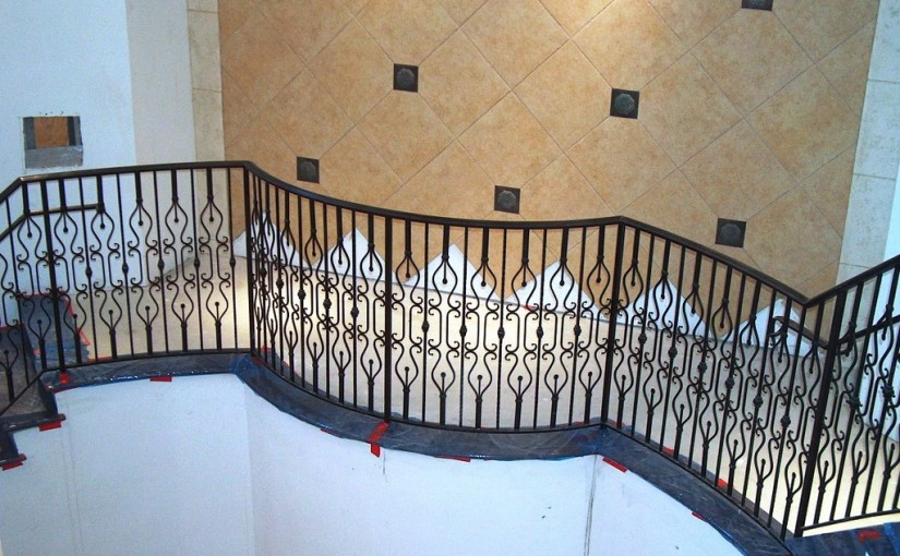Wrought-Iron-Stair-Railing-(SR-49)