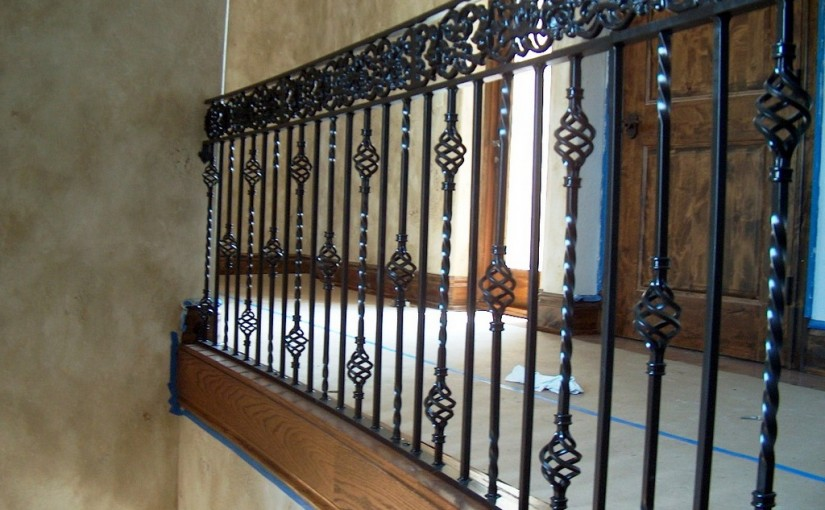 Wrought-Iron-Stair-Railing-(SR-56)