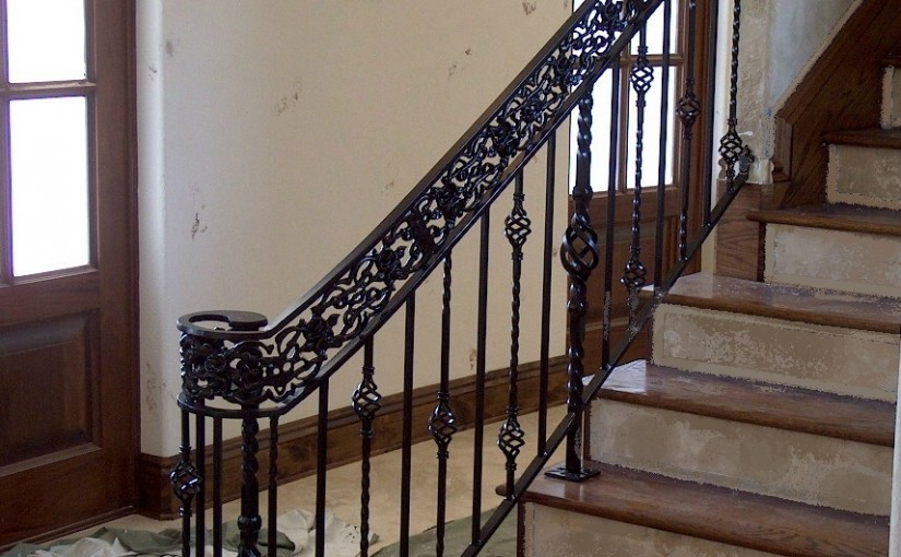 Wrought-Iron-Stair-Railing-(SR-57)