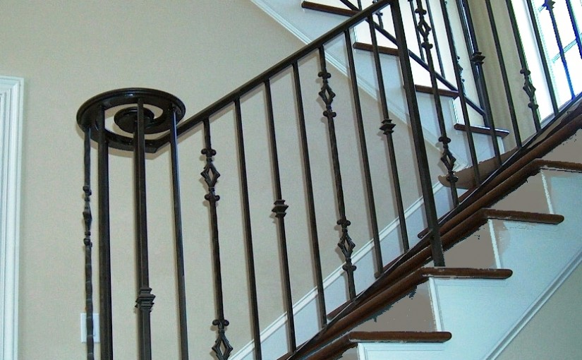 Wrought-Iron-Stair-Railing-(SR-58)