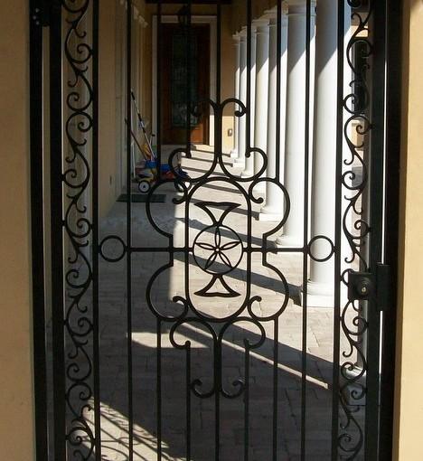 Aluminum_entry_walk_Gate(WG-26)
