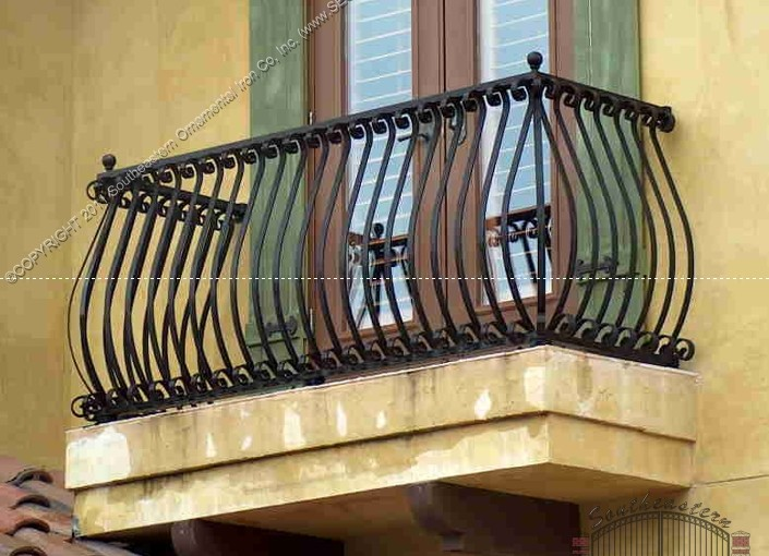 Aluminum Balcony Railing (#R-07)