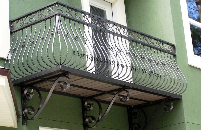 Aluminum Self Supporting Balcony Railing R 1