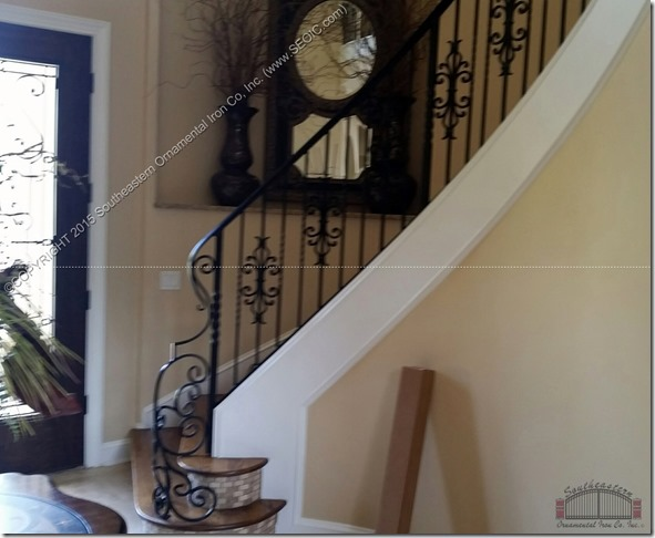 Wrought-Iron-Stair-Rail(SR-129)