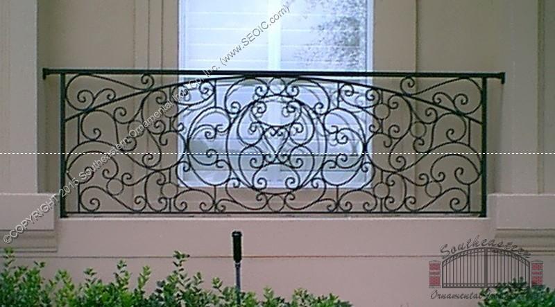 Deck Railing | Southeastern Ornamental Iron Works