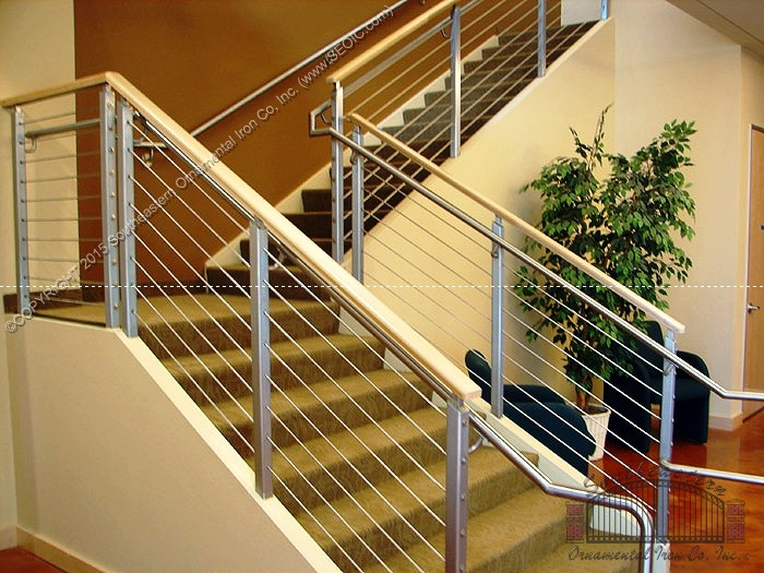 Cable-Railing-With-Wood-Cap(CR-21)