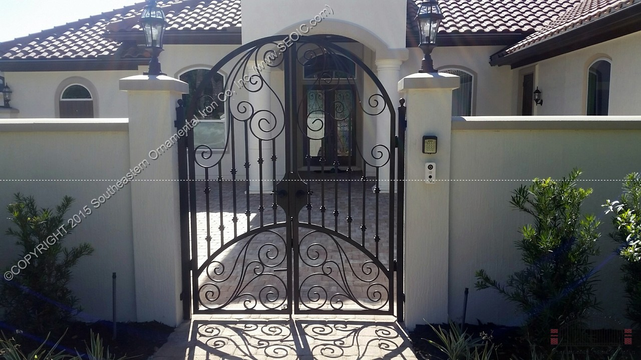 Ornamental-Courtyard-Gate(WG-43)