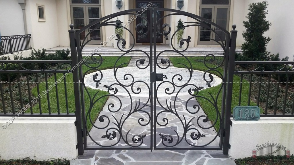 Ornamental Courtyard Gate Wg 36 Southeastern