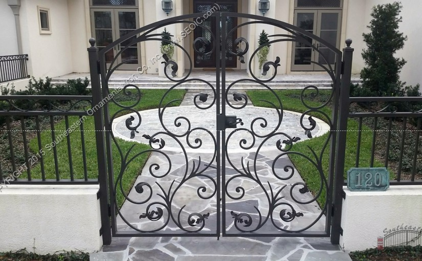 Ornamental-Courtyard-Gate(WG-36)