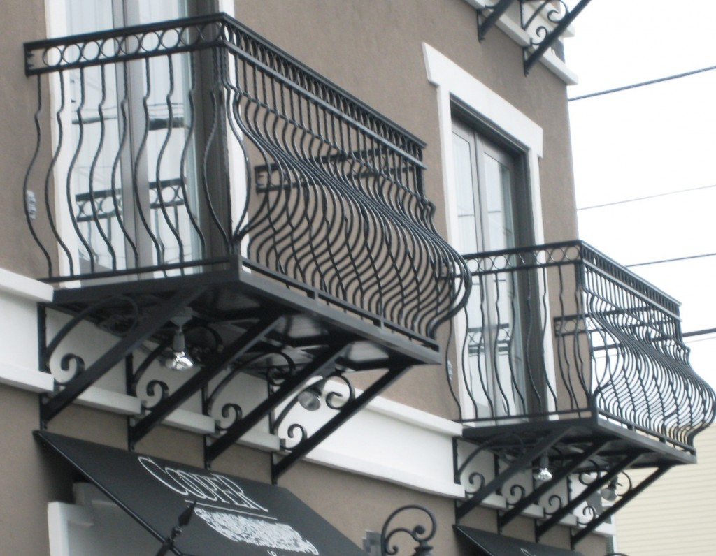 Orlando Wrought Iron Balcony Railing: True Balcony Railing / Full Balconies