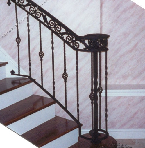 Wrought-Iron-Porch-Railing-(PR-15)