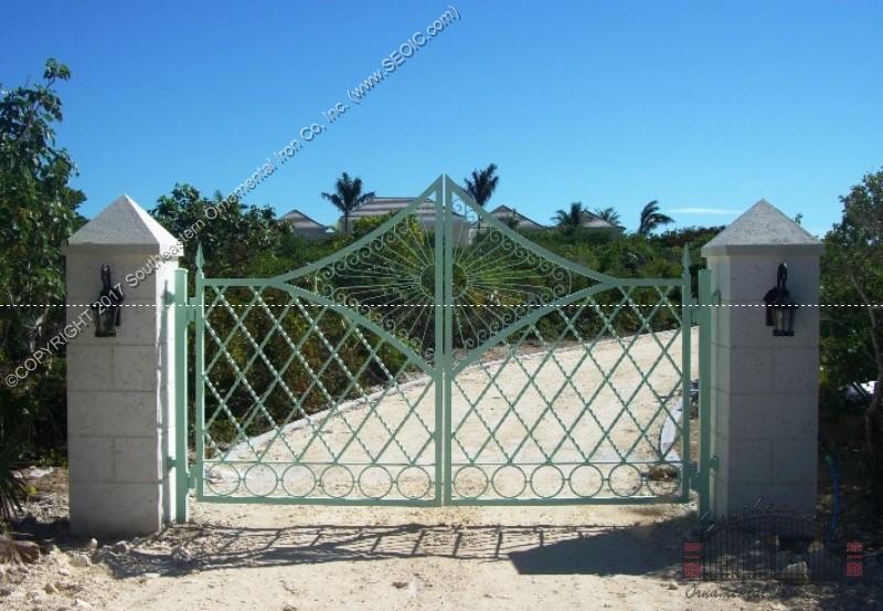 Custom-Aluminum-Driveway-Gate(VG-18)