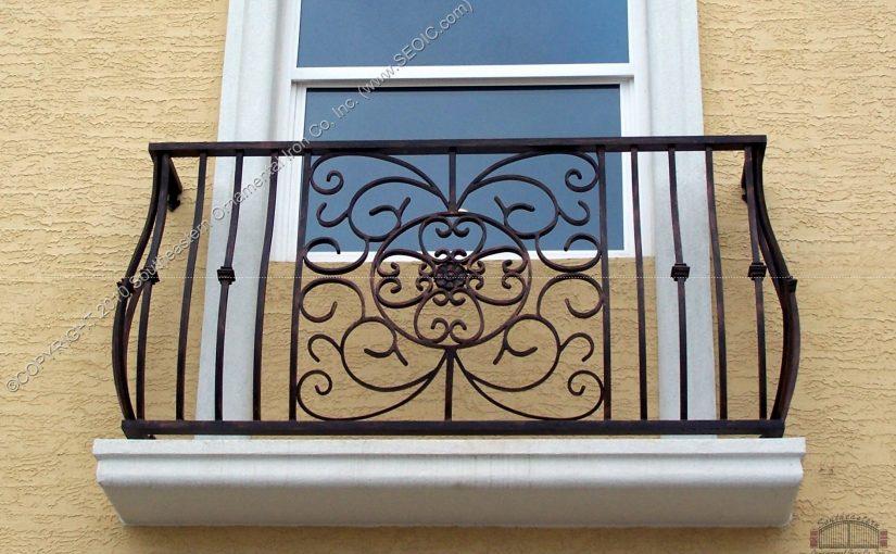 Custom Faux Balcony Railing (#R-127)