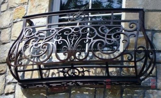 Custom False Balcony Railing (#R-123)
