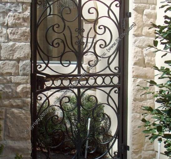 Custom Aluminum Garden-Gate-(WG-9)
