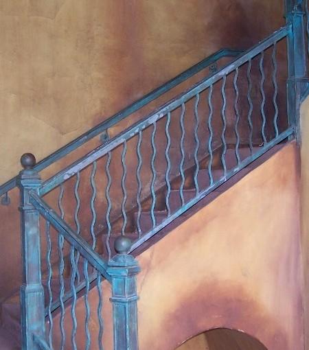 Wrought-Iron-Stair-Rail-(SR-25)