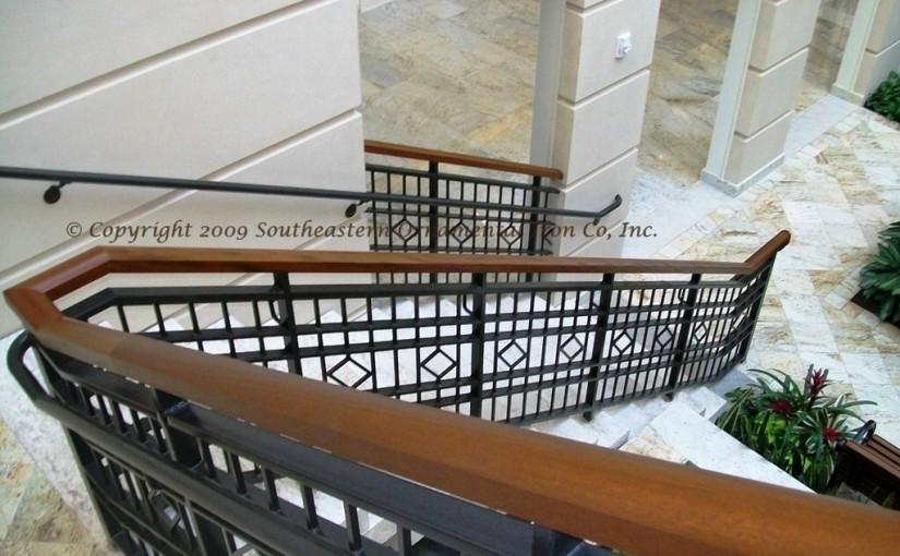 Wrought-Iron-Stair-Railing-Main-Lobby(SR-38)