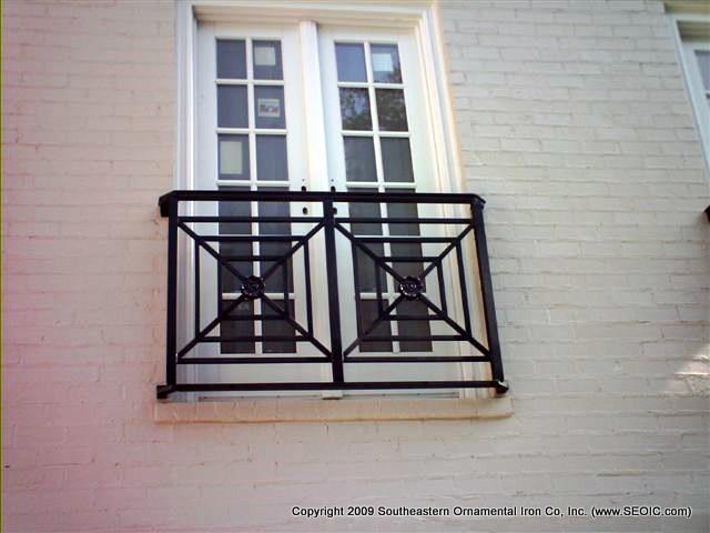 Custom False Balcony Railing (#R-107)