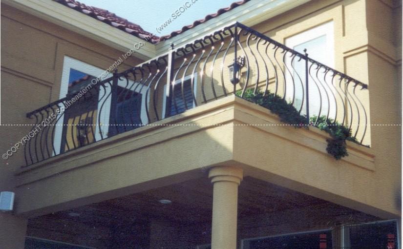 Aluminum Balcony Railing(#R-22)
