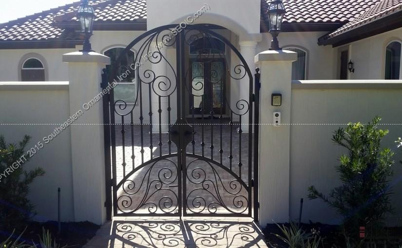 Ornamental-Courtyard-Gate(WG-43)