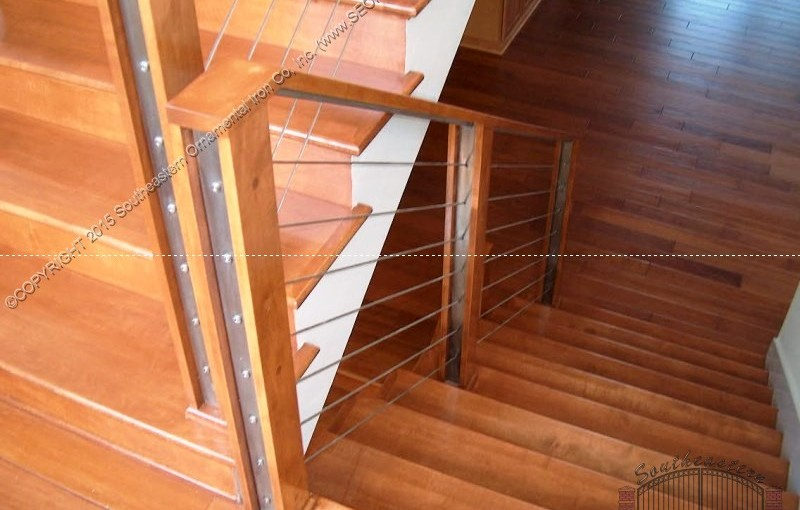 Stainless-Steel-Cable-Railing-Wood(CR-2)