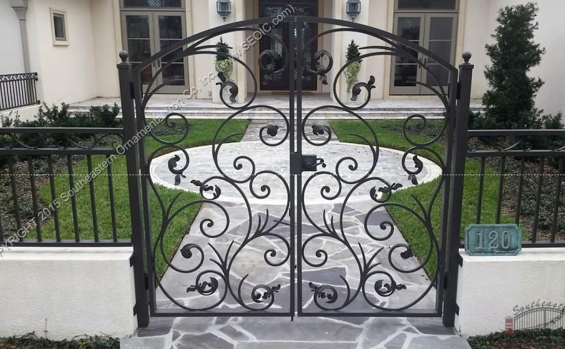 Ornamental-Courtyard-Gate(WG-36)
