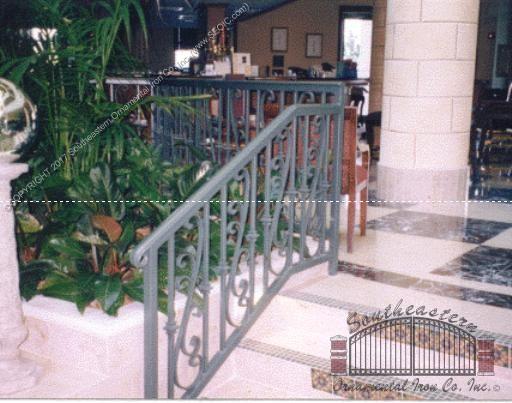 Wrought-Iron-scroll-railing(R-70)