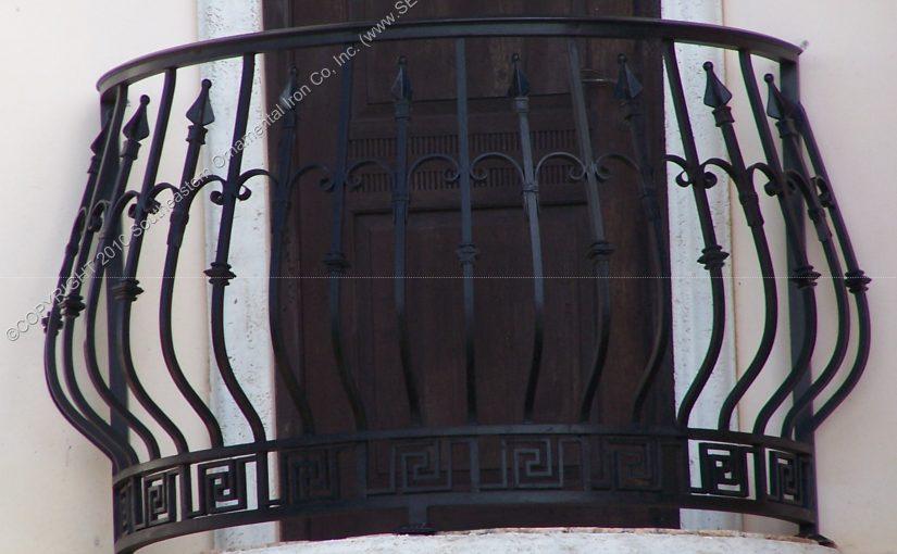 Custom Faux Balcony Railing (#R-132)
