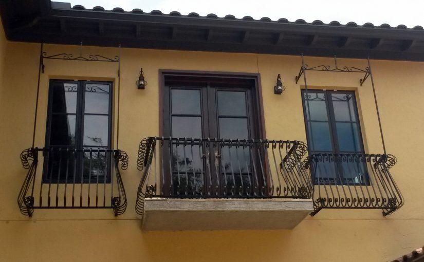 Faux-Balcony-Railings (#R-147) S-SCROLL